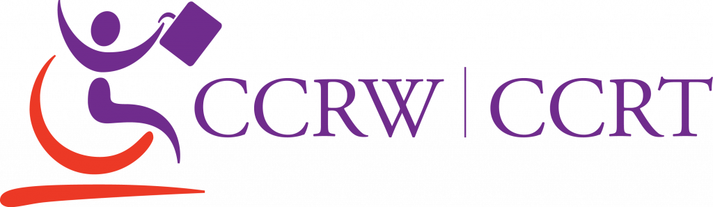 Logo for the Canadian Council for Rehabilitation and Work