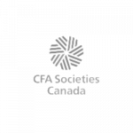 Logo for the CFA Societies of Canada, a nonprofit client of cloudStack Services